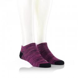 Nizke nogavice - črna in pinki