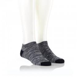 Nizke nogavice - črna in siva
