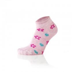 Otroške stopalke nežno roza rožice (2 para v paketu)