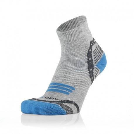Otroške 3/4 športne nogavice sivo modre