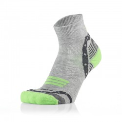 Otroške 3/4 športne nogavice sivo zelene