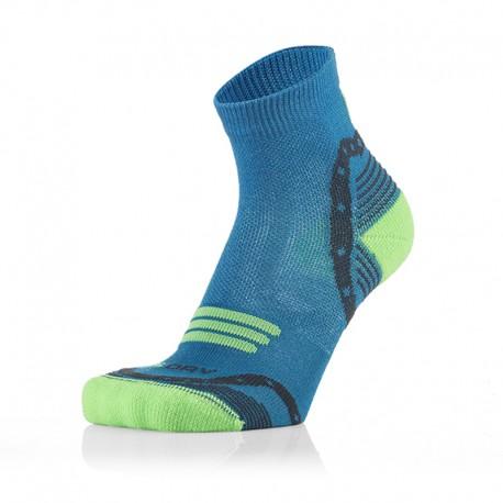 Otroške 3/4 športne nogavice modro zelene