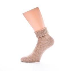 Tople nogavice - Merino Eskimo (bež)