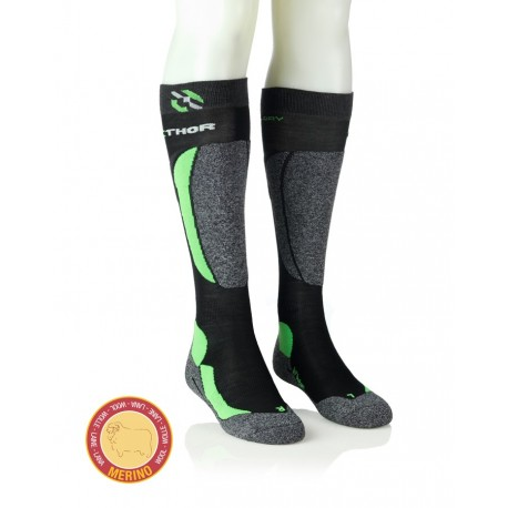 Smučarske nogavice - zelena